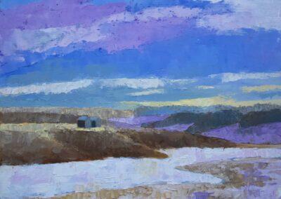 Prairie Coulee 8x10 Oil ($275)