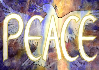 Peace - Live Art Message