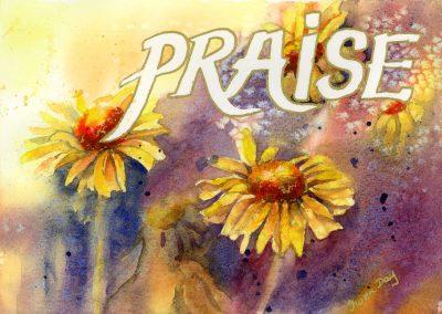 Praise Art Card